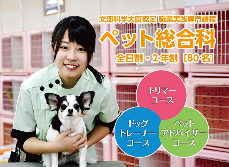 京都でペットのプロを目指す ペット総合科