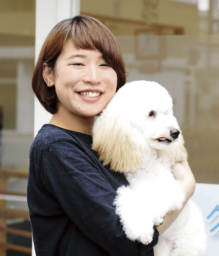YIC京都ペット総合専門学校 ペット総合科 ドッグトレーナーコース 卒業生